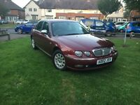 Rover 75 full leather automatic hpi clear low millig