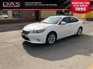 2014 Lexus ES 300h ULTRA PREMIUM NAVIGATION/LEATHER/SUNROOF