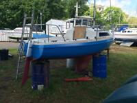 Sea spray 19ft project boat