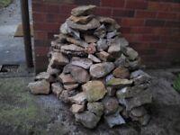 FREE Rockery or Dry Stone Wall stone