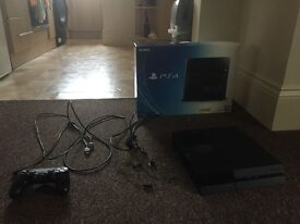 Original Sony PS4 Console - 1TB Harddrive and New Controller