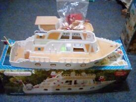 Sylvanian famiys boat