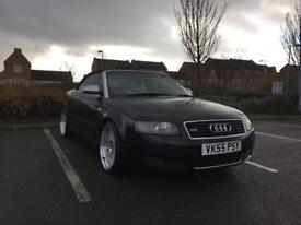 Audi A4 CAB 55reg 12 months MOT HPI Clear