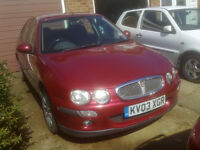 2003 ROVER 25 1.4 Petrol FOR REPAIR OR SPARES