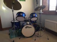 Tiger Junior 5 piece drum kit - now sold