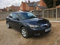 Mazda3 1.6 TS 4dr, ONE PREVIOUS OWNER, NEW RARE DISC & PADS, DRIVES WELL, FIRST TO SEE WILL BUY IT