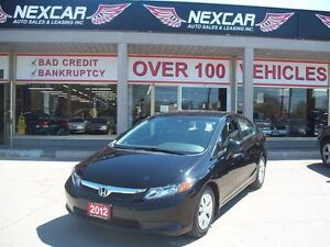 2012 Honda Civic LX AUT0 A/C CRUISE ONLY 73K