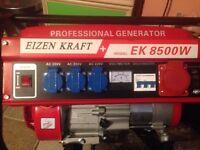 nice generator brand new petrol air cooled 6.5hp