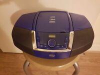 JDW Portable CD/Mp3/USB/Bluetooth/Radio Player