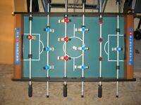 Table top football table