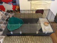 Used large rabbit/guinea cage - 51 x 120 x 58cm