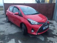 Toyota Yaris 1.33 VVT-i Icon 5dr£5,500 p/x welcome FREE WARRANTY. NEW MOT