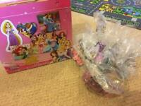 Disney princess 10 puzzle set with varying difficulty