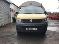 VW TRANSPORTER T28 1.9 TDI 2008 FRESH FULL YEARS MOT CLEAN VAN VIVARO TRAFFIC MASTER BOXER VITO