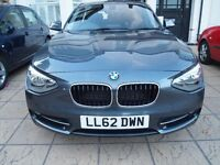 BMW 1 SERIES 116i Sport (2012) 5-Door Mineral Grey (1-owner from new)