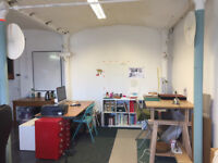 2 - 4 desk spaces in Creative Studio office Space at Islington Mill Salford Coworking space