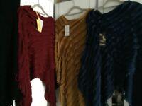 new woolen ponchos