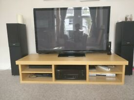 IKEA Media Unit - space for AV Receiver and 4 other shelves