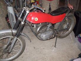montesa 250 trial bike project