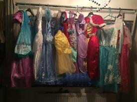 DISNEY PRINCESS PARTY DRESSES /dressing up