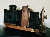 Victorian camera steampunk magic lantern vintage collectible