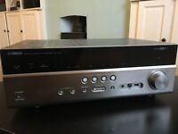 Yamaha RX-V475 5.1 channel digital receiver with airplay