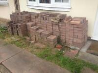 x550+ unused Driveway Block Paving Bricks