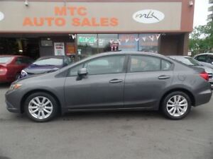 2012 Honda Civic EX (A5), SUNROOF, LOW KM