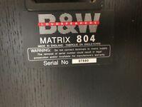 B&W MATRIX 804 Standing floor speakers