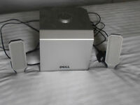 Dell A525 Speakers 2.1 System with Subwoofer TH760 Computer Multimedia