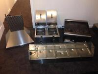 Catering equipment Bain Marie/griddle/fryer/job lot