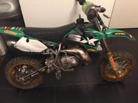 Sq Ktm rep 50 kids motocross bike