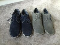 2pair george men smart new Shoes size 11/45