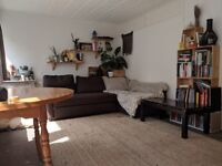 Bright double room overlooking the garden in vibrant Bow!