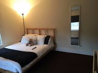 Spacious double room, plenty of natural light near station