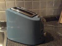 Toaster, VINTAGE style, Hamilton Beach, Aqua Blue