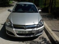 AUTOMATIC VAUXHALL ASTRA 1.8 PETROL IN SILVER, WARRANTED MILEAGE, HPI CLEAR, LEATHER HEATED SEATS