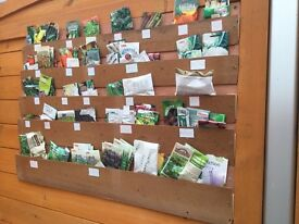 Vegetable and herb seeds for sale