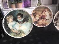 Pears prints four plates decorative , excellent condition