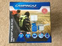 Brand New Campingaz Twister Plus PZ Kit – Camping – Cooking – Festivals – 2900w – Hiking - RRP £30