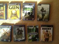 Selection of Ps2 games/Pc games