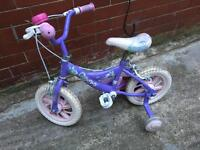 SMALL GIRLS BIKE IN EXCELLENT CONDITION 2-6yrs KIDS BIKE