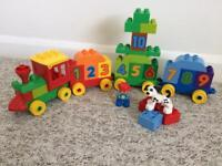 Duplo Lego train