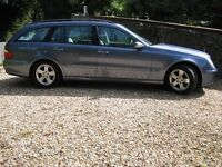 £3600 Mercedes Benz E Class 320 CDI Avantgarde, blue, 7 seat, 5 door, auto diesel estate