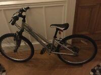 """Girl RIDGEBACK mountain bike 24"""" frame suit ages 7-8-9-10, GC"""