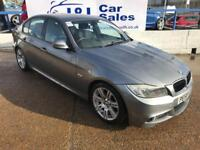 BMW 3 SERIES 2.0 320D M SPORT 4d 175 BHP A GREAT EXAMPLE INSIDE AND OUT (grey) 2008