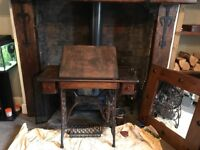 Drawing desk from old singer table