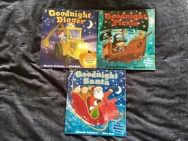 'Goodnight' books x 3