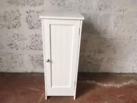 Bathroom cabinet / white cabinet / small cupboard