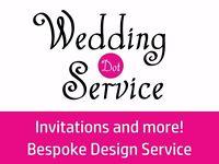 Bespoke Wedding Invitation Design Service